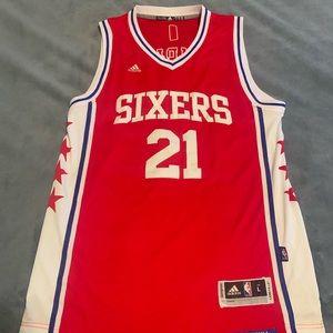 Adidas Philadelphia 76ers Joel Embiid Jersey